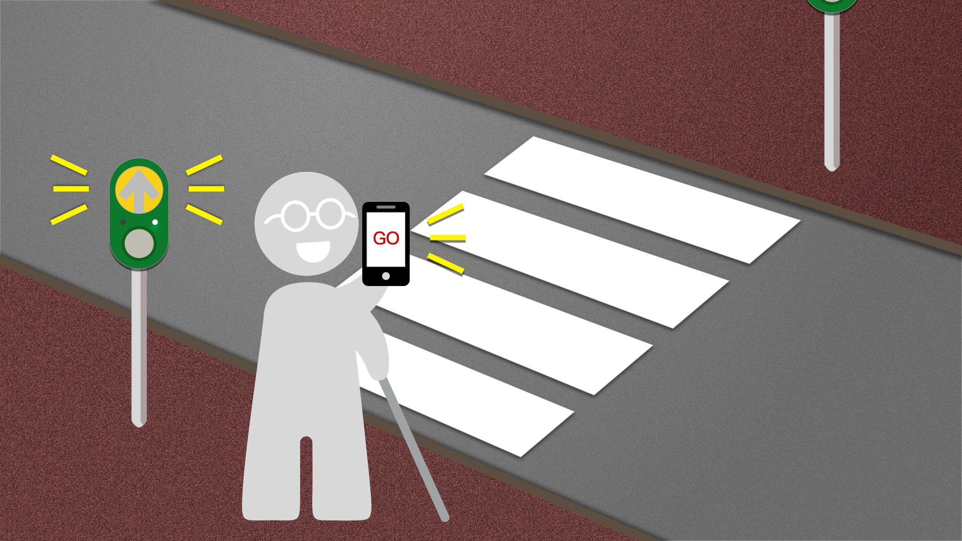 先進感知「智慧有聲號誌」解決方案,視障者安心過馬路落實智慧城市治理