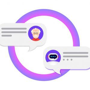 官網智慧客服Chatbot─(含人工客服與主管介面)logo圖