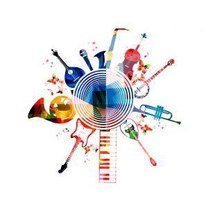 一般規格: 智慧音樂線上授權-展會播映影片logo圖