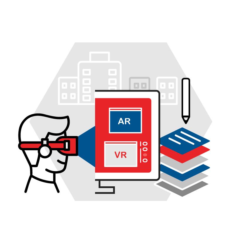 一般規格: AR/VR編輯服務平台-機關版logo圖