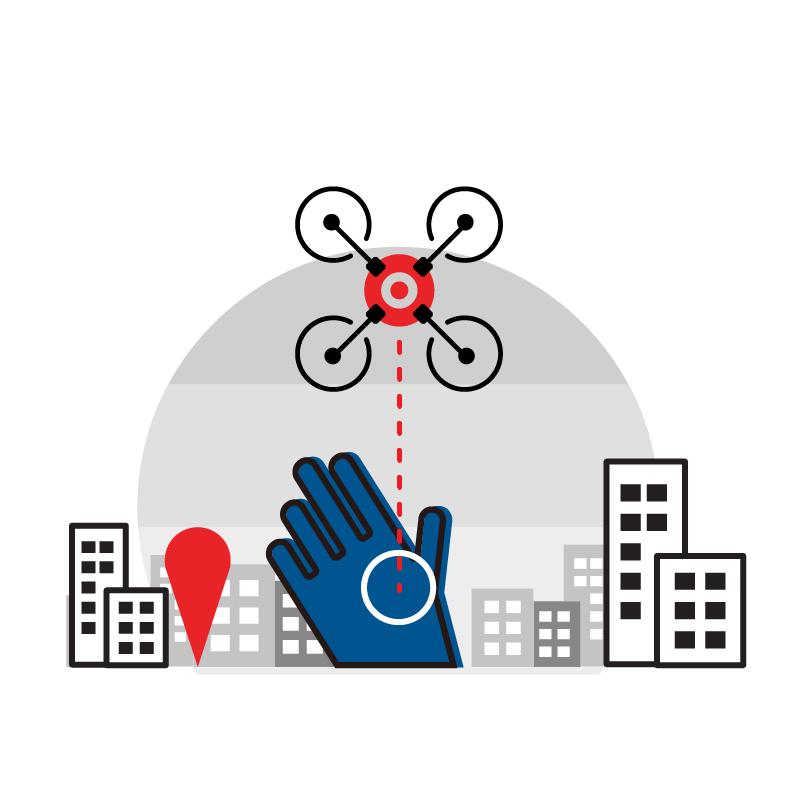 一般規格: 無人機系統-掌上型可編程四軸飛行器logo圖