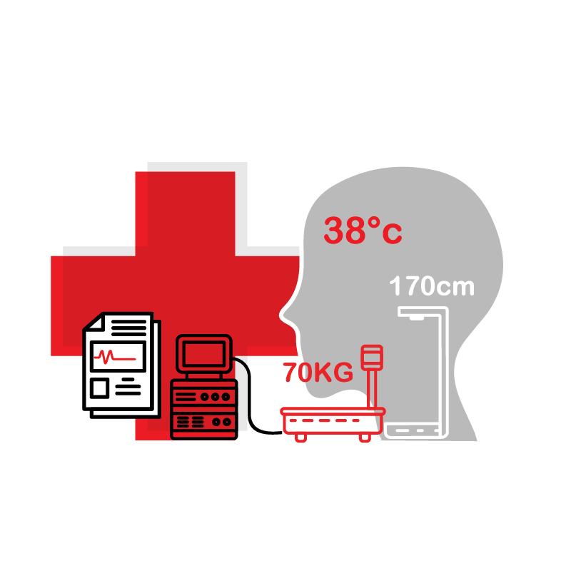 一般規格: 健康管理系統-多功能量測服務站logo圖