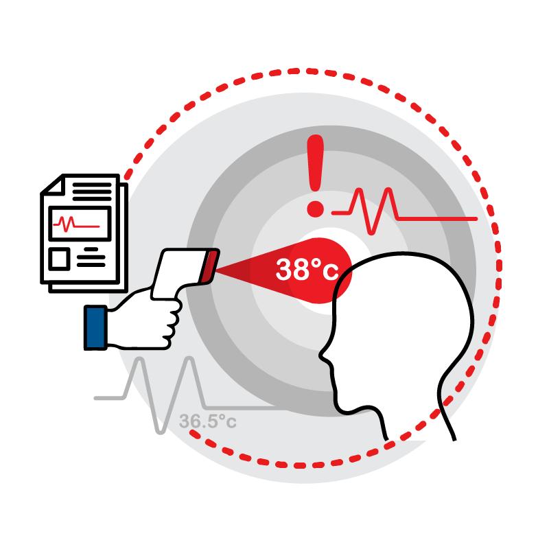 一般規格: 健康管理系統-傳輸型體溫計(額溫式)logo圖