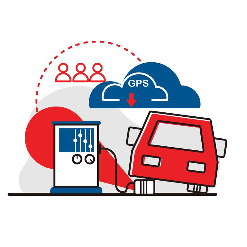一般規格:車輛管理系統-汽車定位與胎壓監控(公有雲版)logo圖