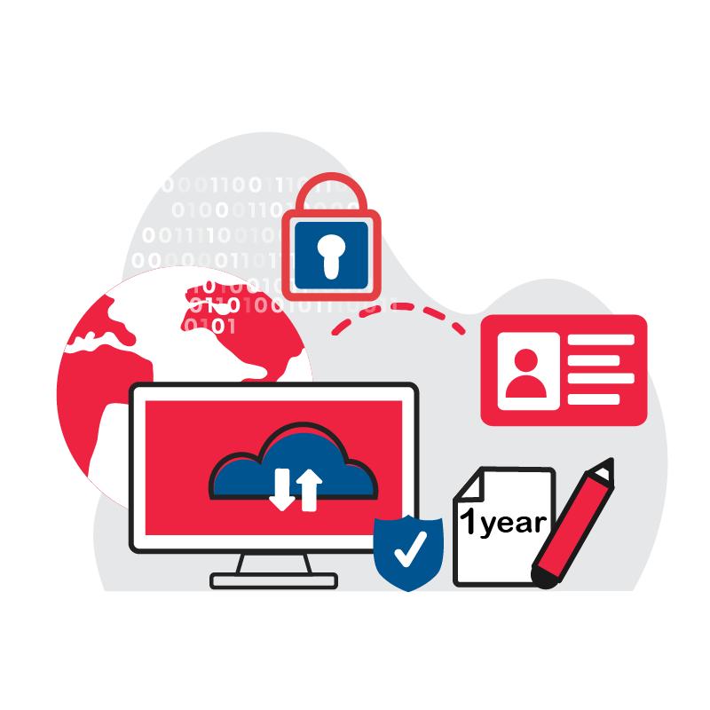 一般規格:資安加密認證鎖(含個人數位簽章一年)logo圖