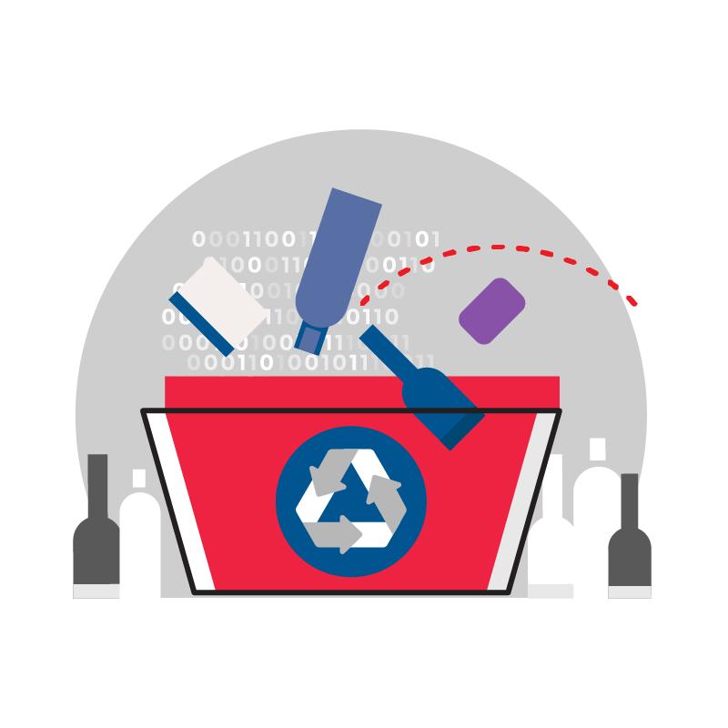 一般規格:資源回收系統-瓶罐回收機logo圖