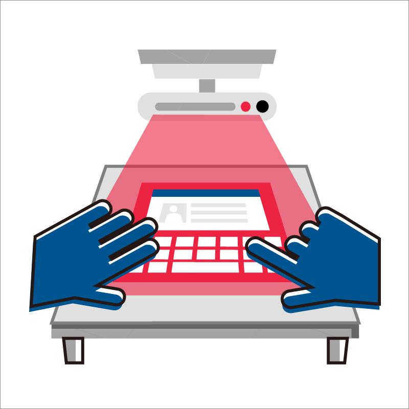 一般規格:桌面觸控互動投影機logo圖