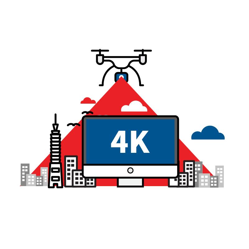 一般規格: 無人機應用-空拍服務(高影像品質)logo圖