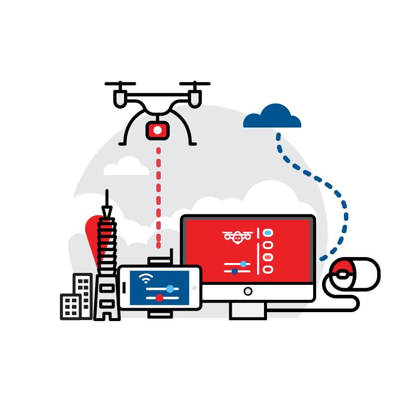 一般規格: 無人機應用-空拍服務(空拍教學課程)logo圖