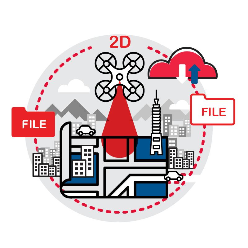 一般規格: 無人機應用-2D正射測繪 (含雲端平台)logo圖