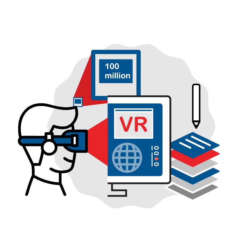 一般規格: VR實景體驗網站建置服務-高解析度(1億像素)logo圖