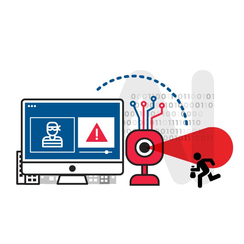 一般規格:異常行為AI影像辨識服務-人形入侵偵測(攝影機具備AI邊緣運算功能)logo圖