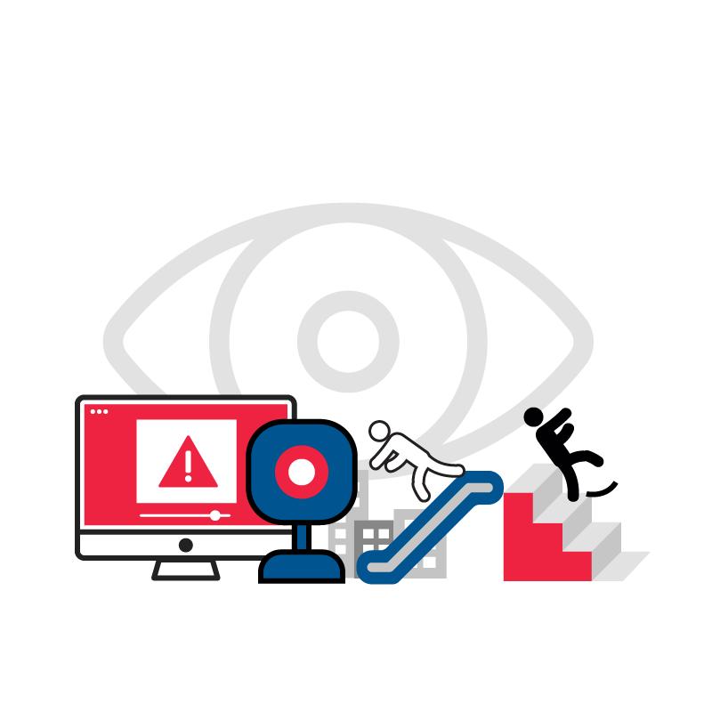 一般規格:AI影像分析服務-電扶梯/樓梯跌倒偵測系統(本地端版)logo圖