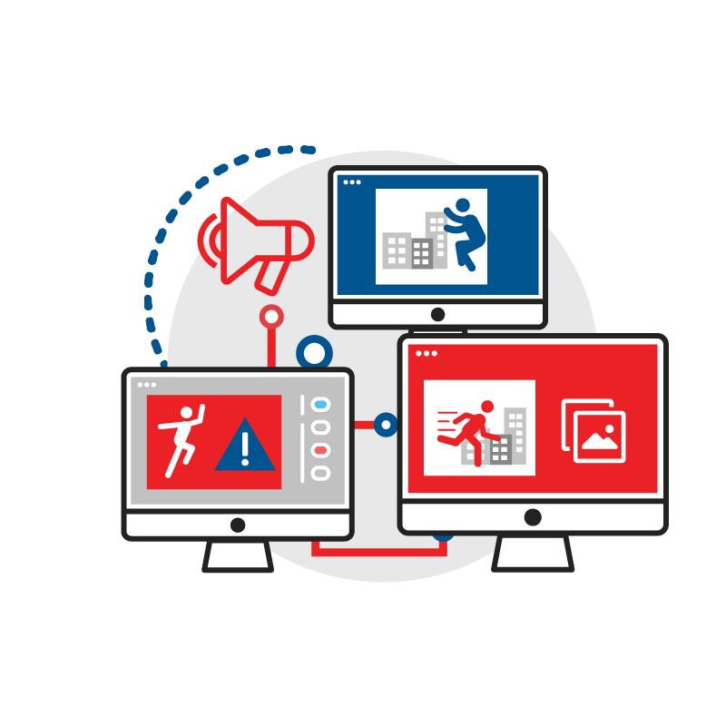 一般規格:影像監控行動指揮所logo圖