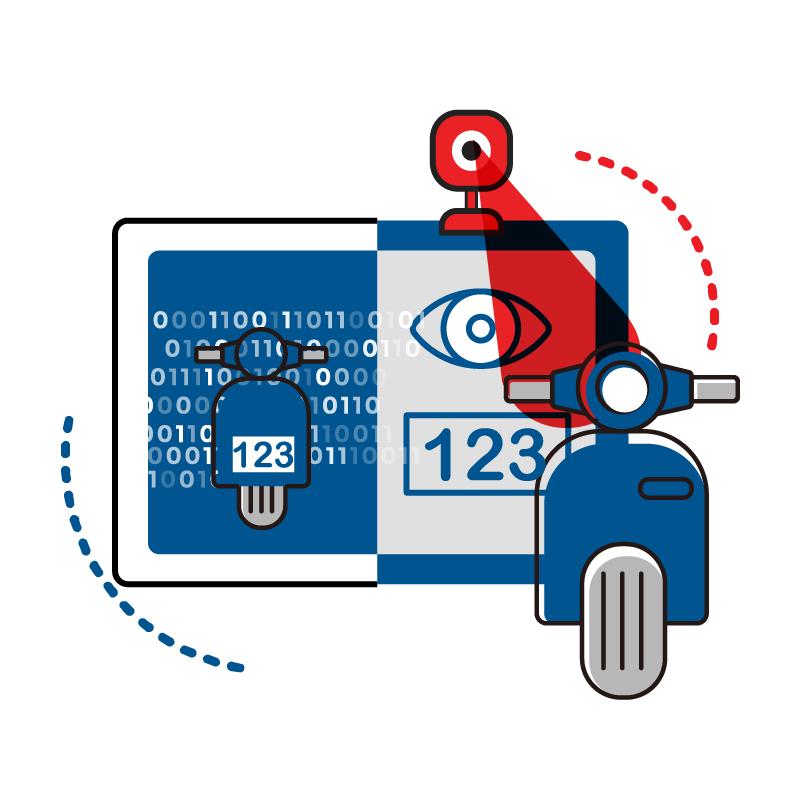 一般規格: 前端攝影機車牌影像分析服務logo圖
