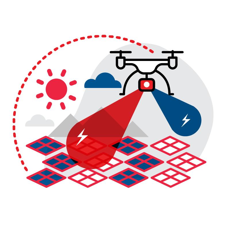 一般規格: 無人機應用-太陽能發電站巡檢服務 (含雲端平台服務)logo圖