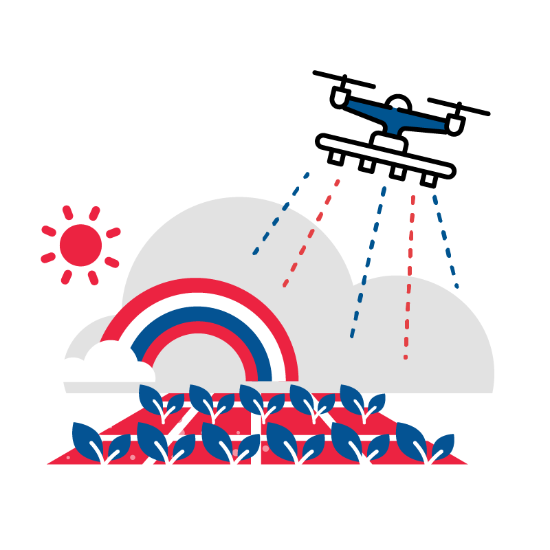 一般規格:無人機農噴服務logo圖