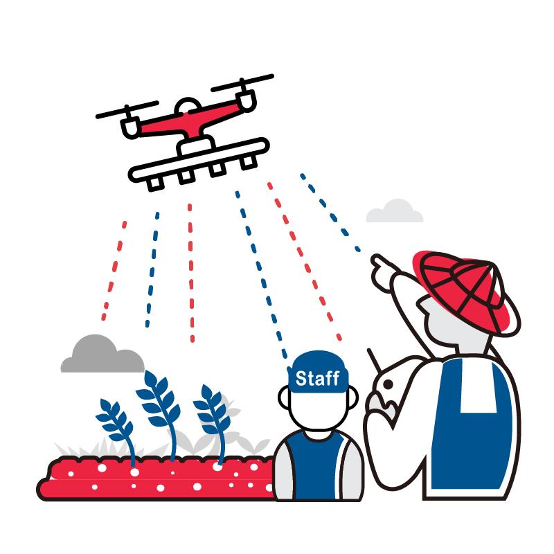 一般規格: 無人機農噴服務-無人機農噴教學課程logo圖