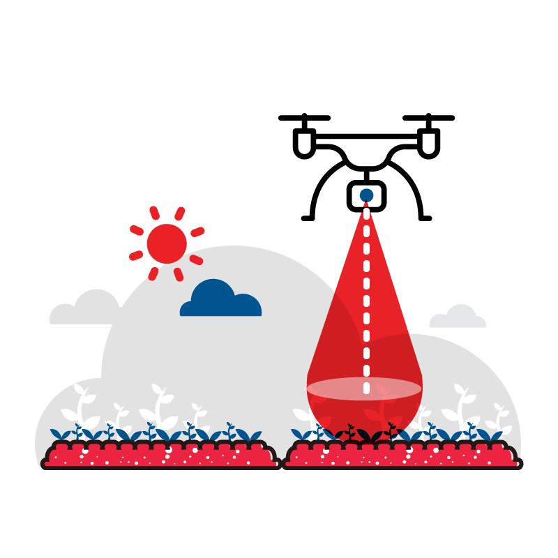 一般規格:無人機應用-多光譜農業巡勘服務  (含雲端平台服務)logo圖