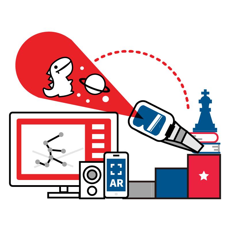 一般規格:AR/VR教學課程-AR/VR創作主題課程(進階方案)logo圖