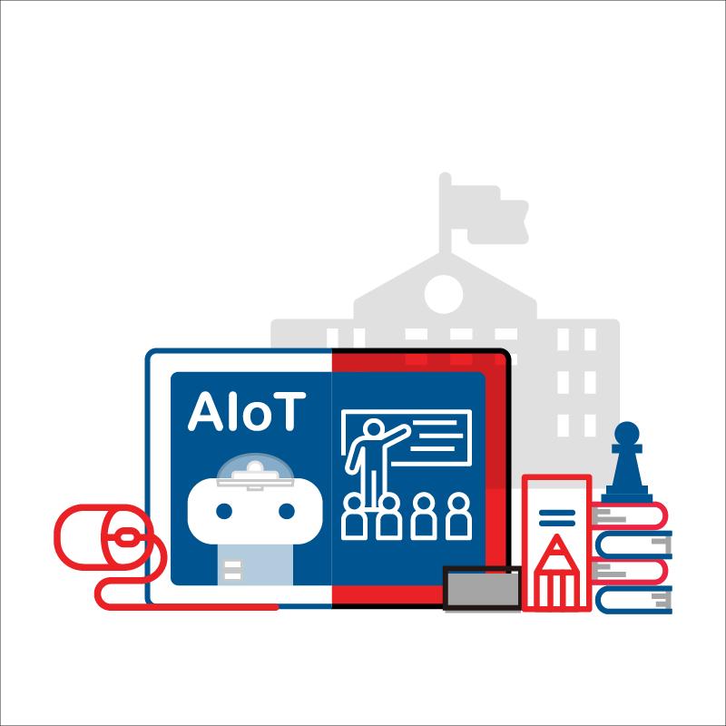 一般規格: AIoT校園版授權公播課程服務(高階課程)logo圖